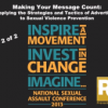 Thumbnail image for Making your message count: Applying the strategies and tactics of advertising to sexual violence prevention, part 2