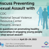 Thumbnail image for Join Facebook Discussion on Preventing Sexual Violence