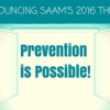 Thumbnail image for Prevention is Possible: Theme for 2016 Sexual Assault Awareness Month
