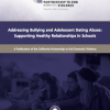 Thumbnail image for New Policy Brief from CPEDV on Supporting Healthy Relationships in Schools