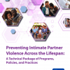 Thumbnail image for Preventing Intimate Partner Violence Across the Lifespan: A Technical Package of Programs, Policies, and Practices