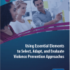 Thumbnail image for Using Essential Elements to Select, Adapt, and Evaluate Violence Prevention Approaches