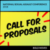 Thumbnail image for Call for prevention workshop proposals at the 2018 National Sexual Assault Conference