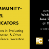 Thumbnail image for Community-Level Indicators: Advancements in Evaluating Sexual, Domestic, and Other Forms of Violence Prevention
