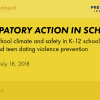 Thumbnail image for Participatory Action in Schools: Improving school climate and safety in K-12 schools for sexual and teen dating violence prevention