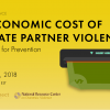 Thumbnail image for The Economic Cost of Intimate Partner Violence: Implications for Prevention