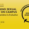 Thumbnail image for Addressing Sexual Assault on Campus: From Implementation to Evaluation