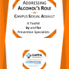 "Thumbnail image for New Resource from CAPPA:  ""Addressing Alcohol's Role in Campus Sexual Assault: A Toolkit by and for Prevention Specialists"""