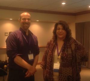 David Lee and Barbara Kappos