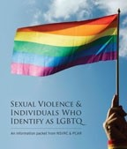 Thumbnail image for New informational packet on sexual violence & individuals who identify as LGBTQ