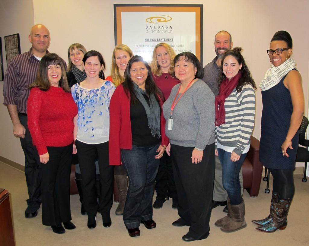 CALCASA & PreventConnect Staff Winter 2012