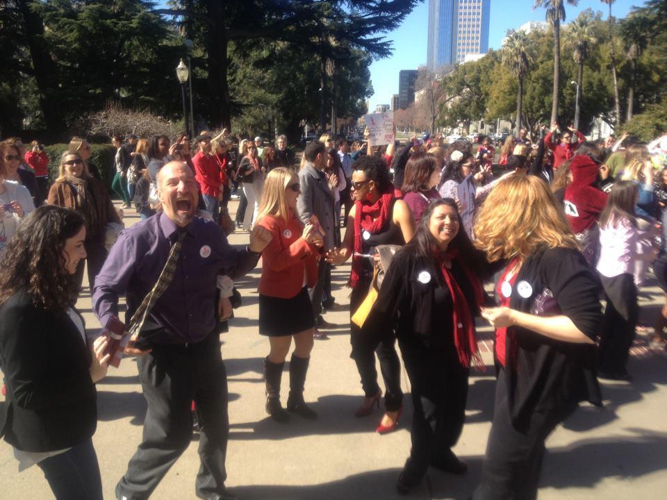 PreventConnect staff at One Billion Rising