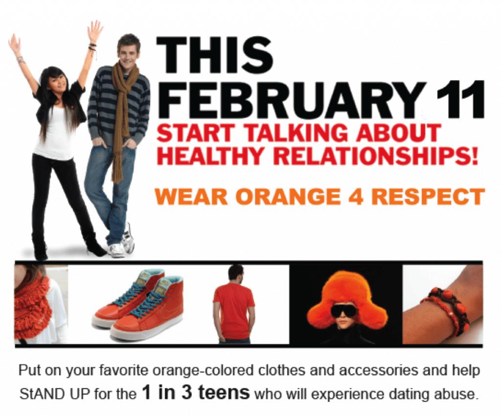 Wear Orange for Respect