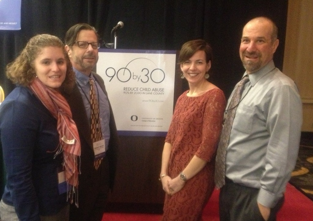 Plenary speakers at 90by30 conference.