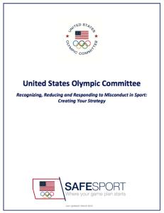 safesport handbook cover