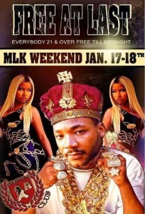 MLK promotion flyer