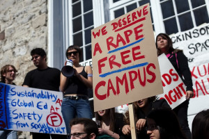 We deserve a rape free campus