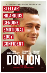 don jon official poster