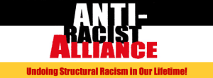 The Anti-Racist Alliance header from website.