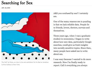 screen shot of article