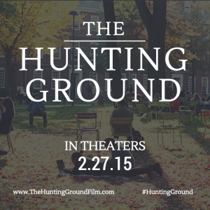 The Hunting Ground in theaters 2.27.15