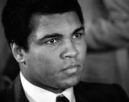 Headshot of young Muhammad Ali