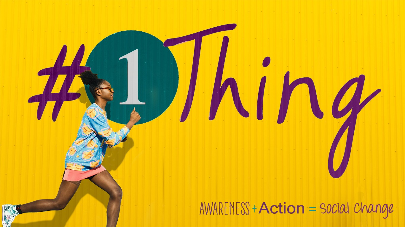 #1Thing: October is Domestic Violence Awareness Month