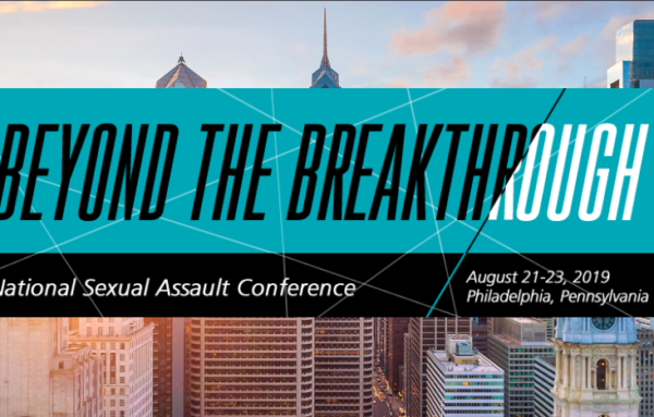 The National Sexual Assault Conference is Almost Here!