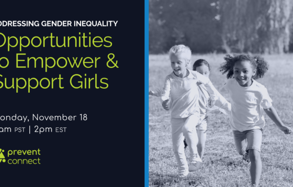 Addressing Gender Inequality: Opportunities to empower and support girls