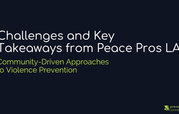 Challenges and Key Takeaways from Peace Pros LA