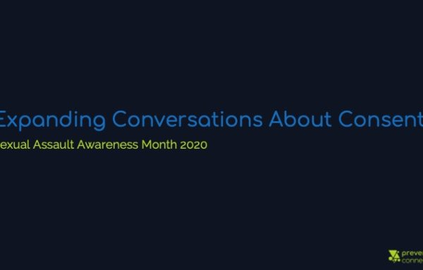 Expanding Conversations About Consent: SAAM 2020