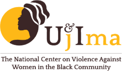 Logo for Ujima, Inc.: The National Center on Violence Against Women in the Black Community