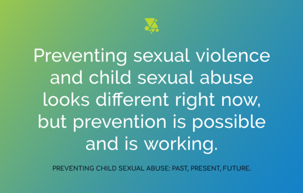 Preventing Child Sexual Abuse: Past, Present, Future.