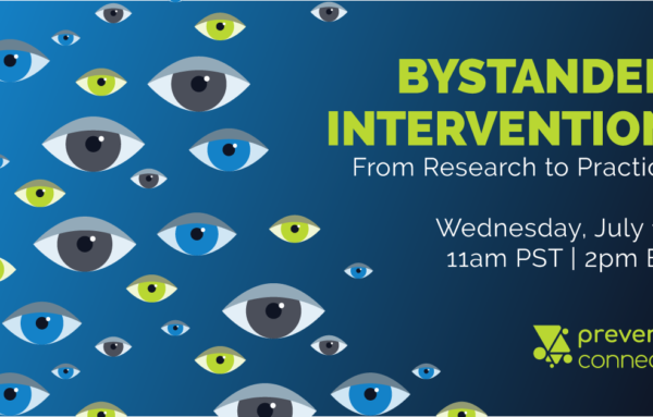 Bystander Intervention: From Research to Practice