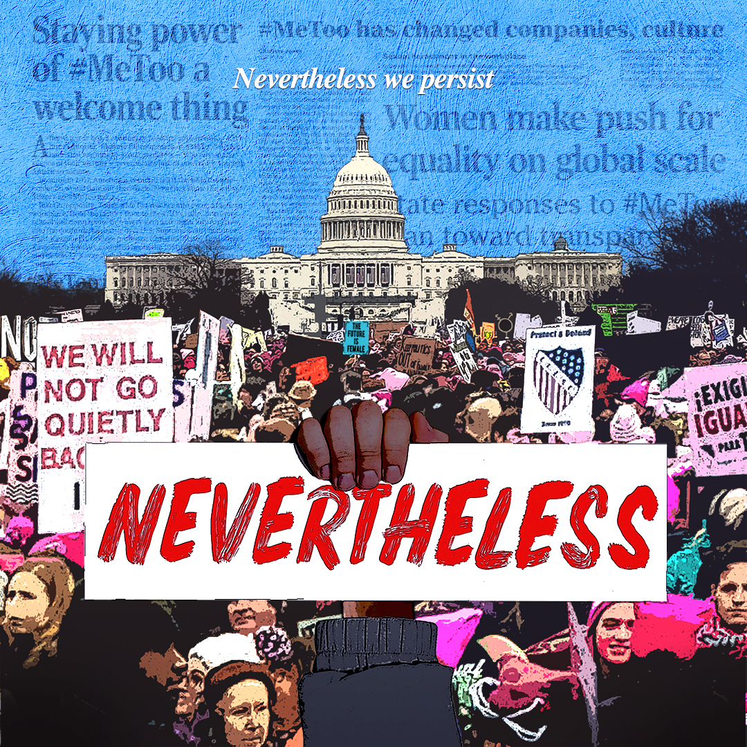 "Poster for film ""Nevertheless"""