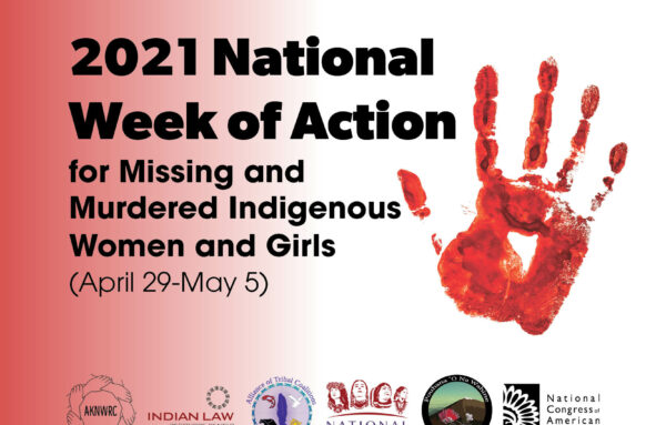 Missing and Murdered Indigenous Women and Girls Day 2021