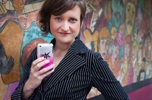 Emily May, Executive Director of Hollaback!