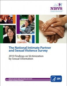 National Intimate Partner and Sexual Violence Survey (NISVS) 2010 Findings on Victimization by Sexual Orientation  Cover