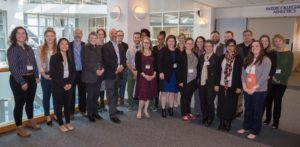 20 people gathered for Researcher Think Tank