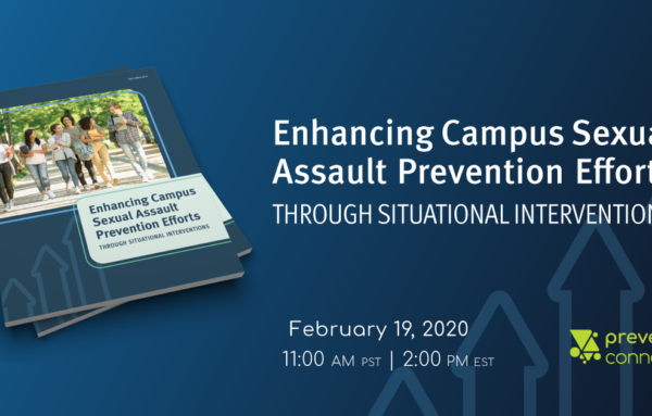 Enhancing Campus Sexual Assault Prevention Efforts Through Situational Interventions