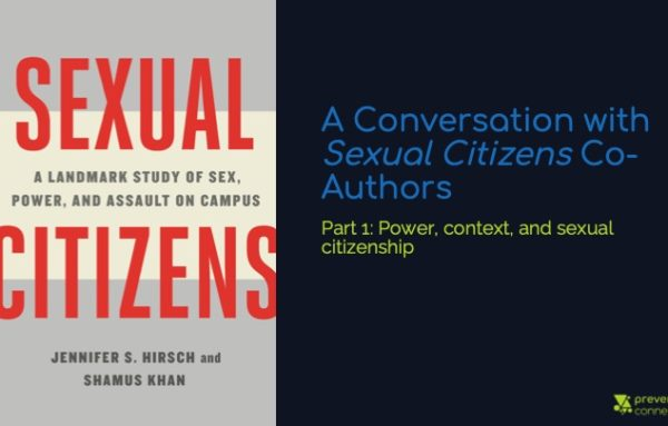 A Conversation with Sexual Citizens Co-Authors Part 1: Power, context, and sexual citizenship
