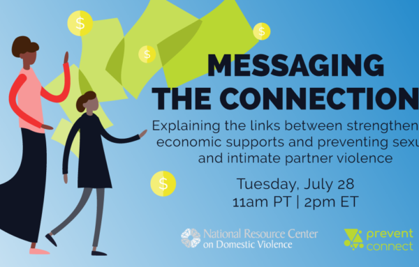 Messaging the Connections: Explaining the links between strengthening economic supports and preventing sexual and intimate partner violence