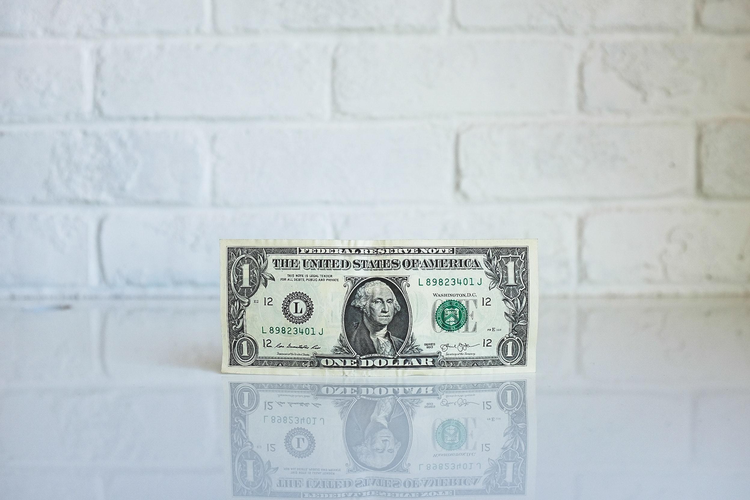 Image of a U.S. dollar bill