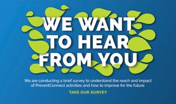 Take the PreventConnect Annual Survey