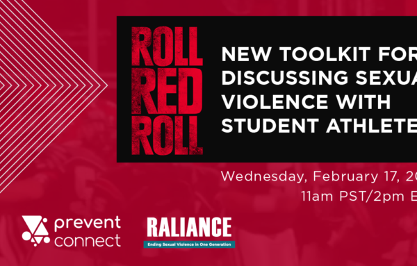 Upcoming Web Conference: New Toolkit for Discussing Sexual Violence With Student Athletes