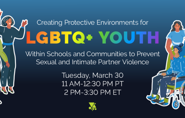 Creating Protective Environments for LGBTQ+ Youth Within Schools and Communities to Prevent Sexual and Intimate Partner Violence