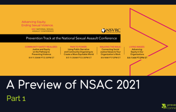 A Preview of NSAC 2021: Part 1